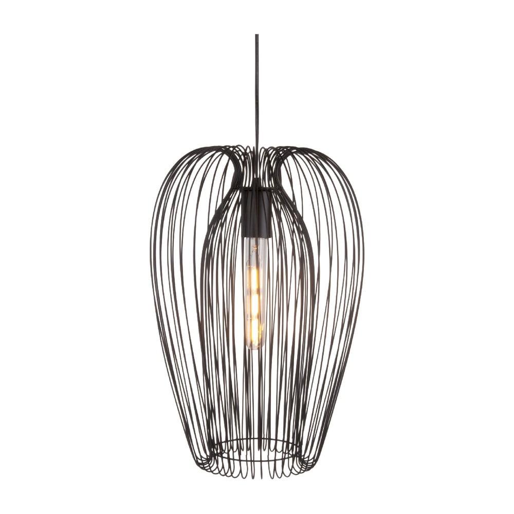 Czarna lampa sufitowa Leitmotiv Lucid Large