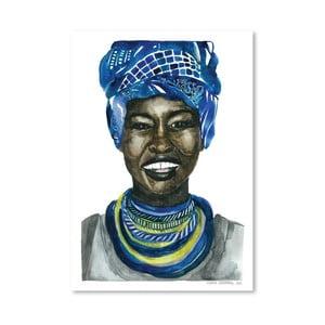 Plakat African Pride III, 30x42 cm