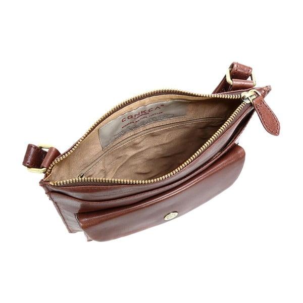 Damska torba skórzana Lilia Brown