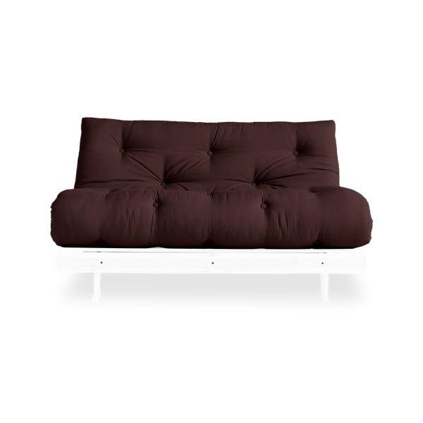 Sofa wielofunkcyjna Karup Design Roots White/Brown