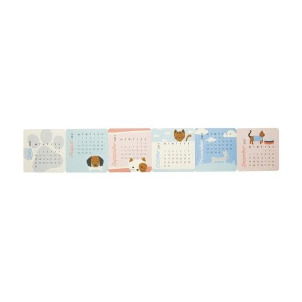 Kalendarz na stół Busy B Cute 2017
