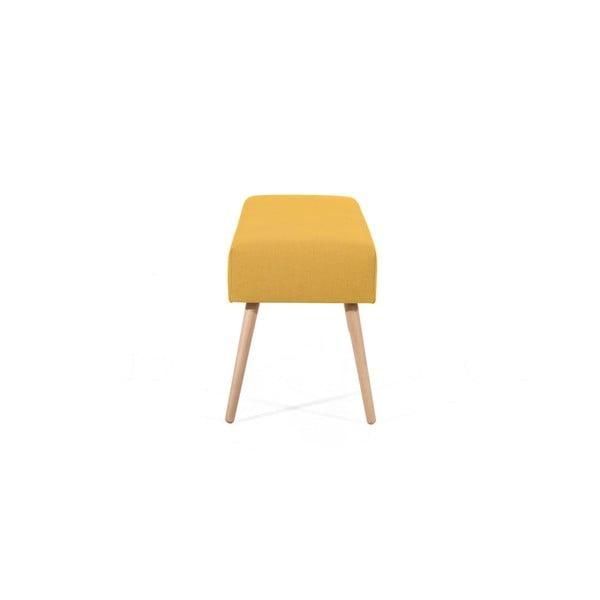 Jasnożółta ławka Max Winzer Sue