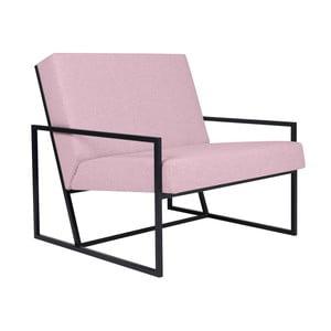 Różowy fotel BSL Concept Geometric