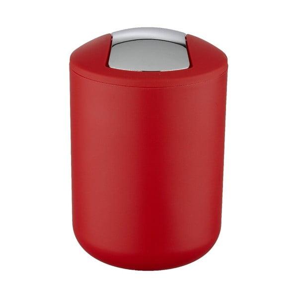 Czerwony kosz na śmieci Wenko Swing Red S