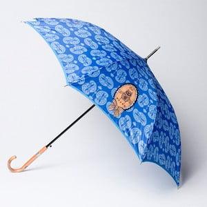 Parasol Alvarez Cashmere Blue Illustration