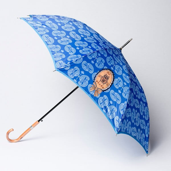 Parasol Alvarez Cashmere Blue Illustration
