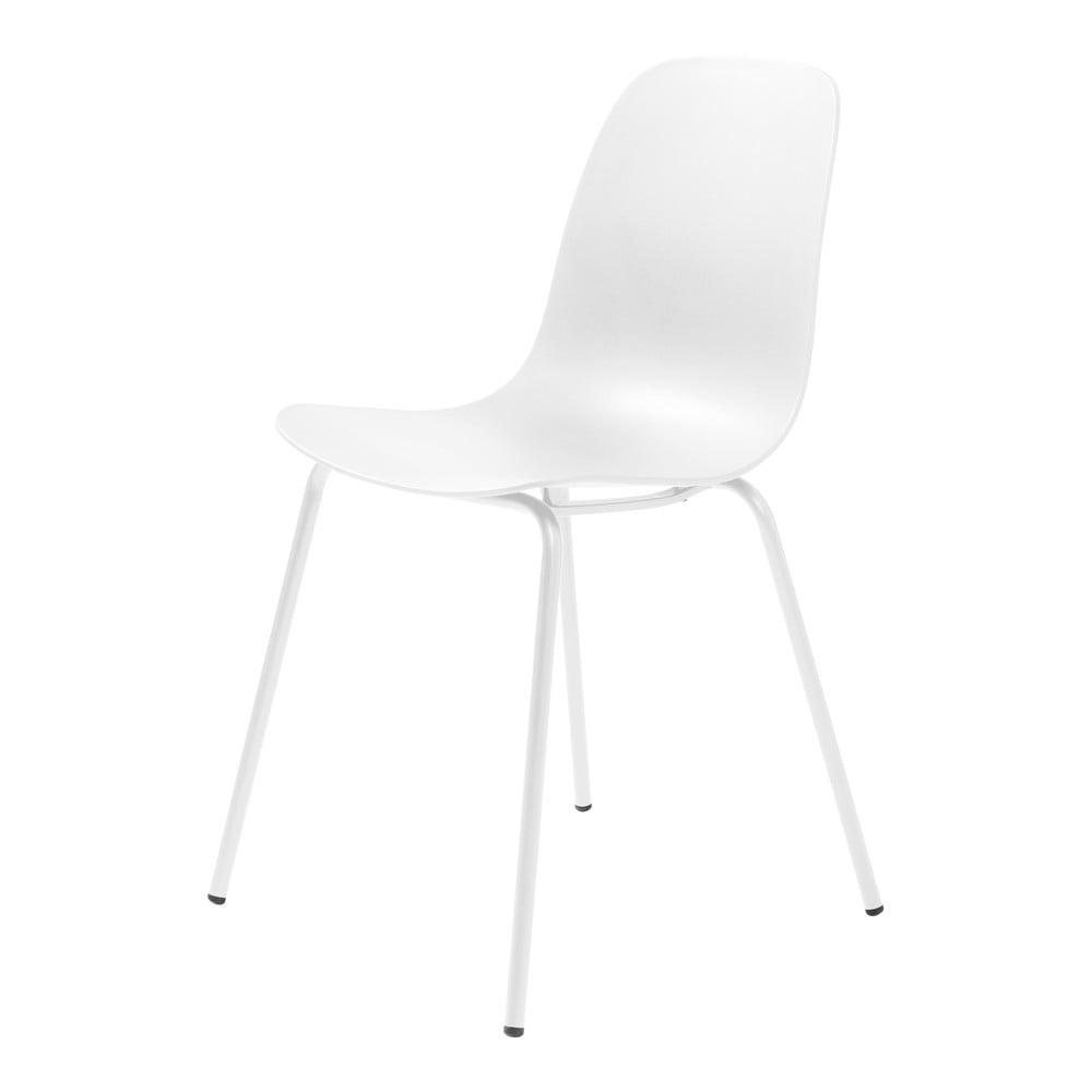 Zestaw 2 białych krzeseł Unique Furniture Whitby