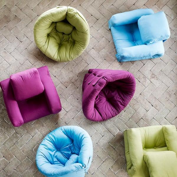 Fotel rozkładany Karup Nido Celeste