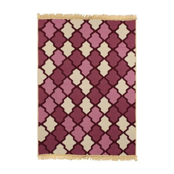 Dywan Duvar Red Beige, 80x150 cm