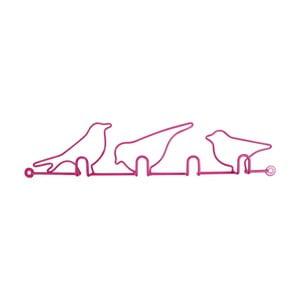 Wieszaki Oiseaux Pink