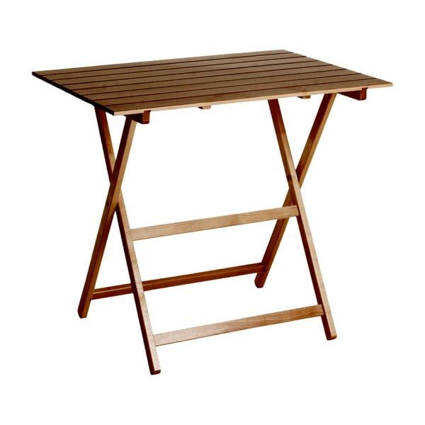 Stolik składany King 60x80 cm, orzech