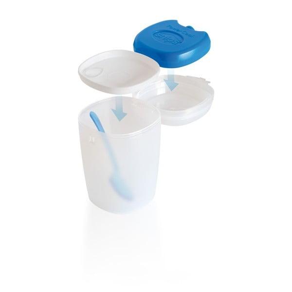 Pojemnik na jogurt z łyżeczką Snips, 0,5l