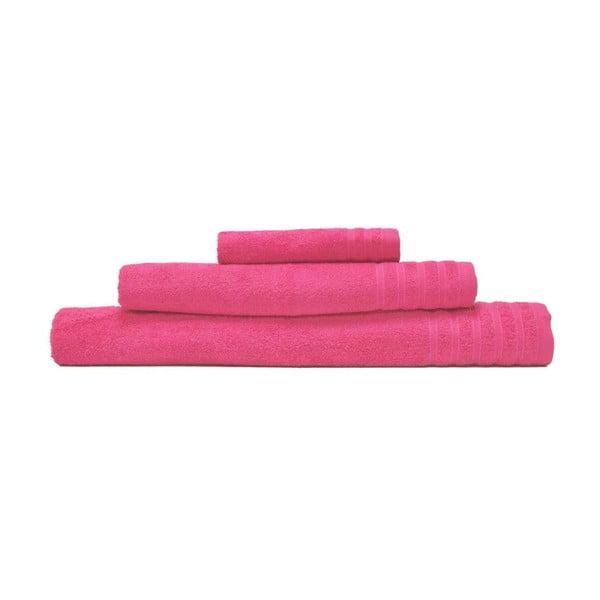 Zestaw 3 ręczników Flamenco Rosa