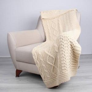 Kremowa narzuta Homemania Teto, 170x130 cm