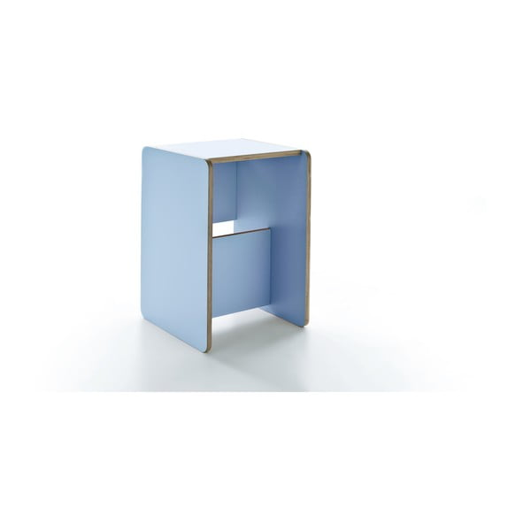 Rolle Light Blue, wielofunkcyjny stolik i schodki