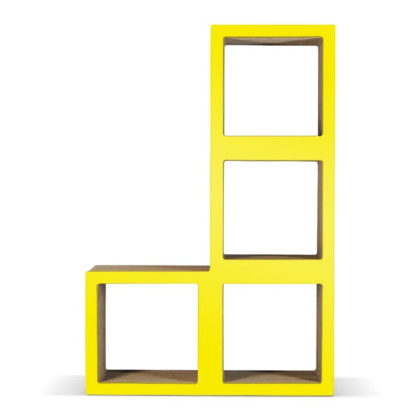 Kartonowa biblioteczka Bit Ti Elle Yellow
