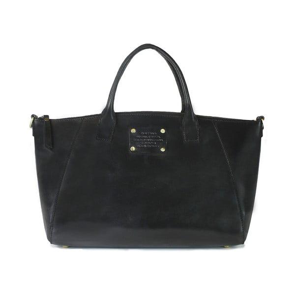 Czarna torebka skórzana O My Bag Fly Violet Midi