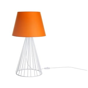 Lampa stołowa Wiry Orange/White