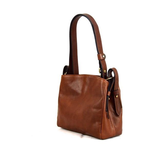 Skórzana torebka Santo Croce M6800 Brown