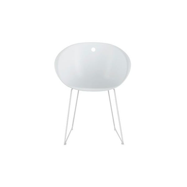Białe krzesło Pedrali Gliss 920