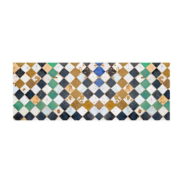 Winylowy dywan Square Tiles, 66x180 cm