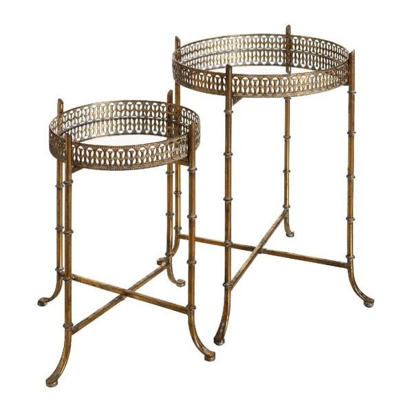 Zestaw 2 stolików Antique