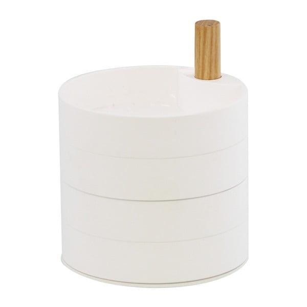 Biała szkatułka YAMAZAKI Tosca