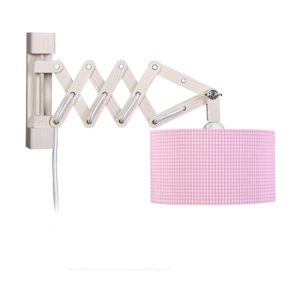 Lampa ścienna Pink Vichy