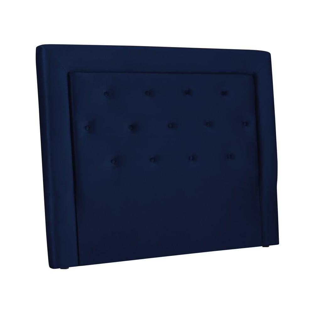 Granatowy Zagłówek łóżka Cosmopolitan Design Cloud Szer 140 Cm Bonami