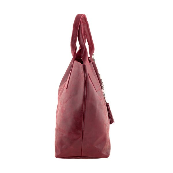 Czerwona torebka skórzana Ore Diece Laura