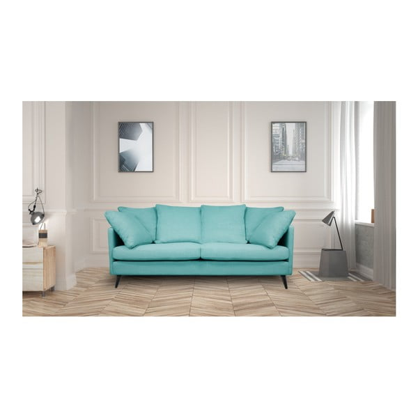 Niebieska sofa 3-osobowa Helga Interiors Victoria