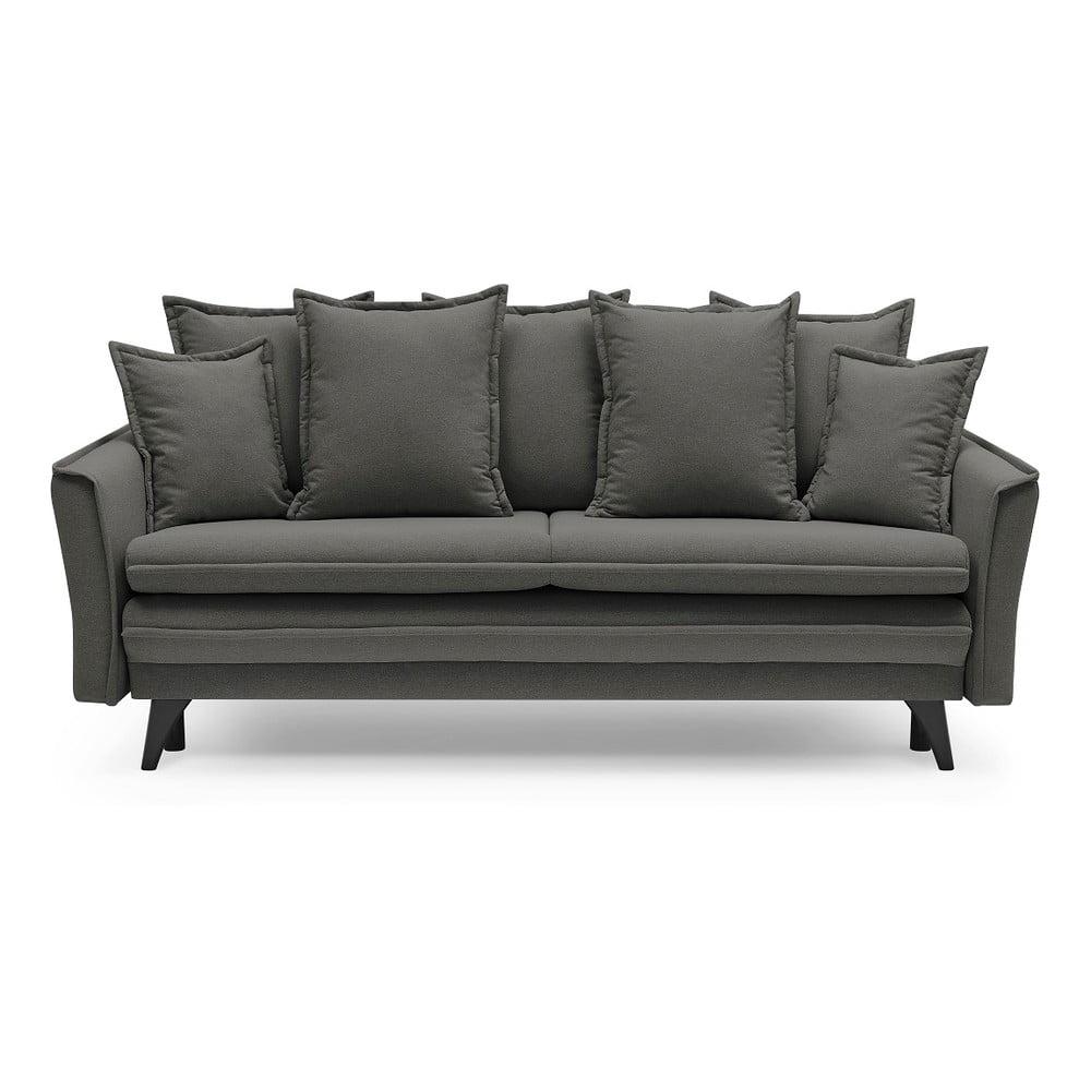 Brązowoszara sofa rozkładana Bobochic Paris Seychelles