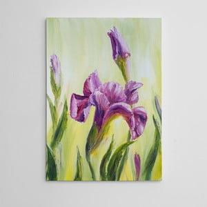 "Obraz na płótnie ""Fioletowy narcyz"", 50x70 cm"