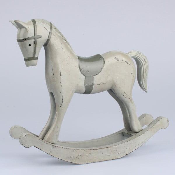 Dekoracja drewniany koń II