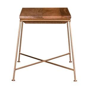 Stolik z blatem z drewna mangowego House Nordic Dui