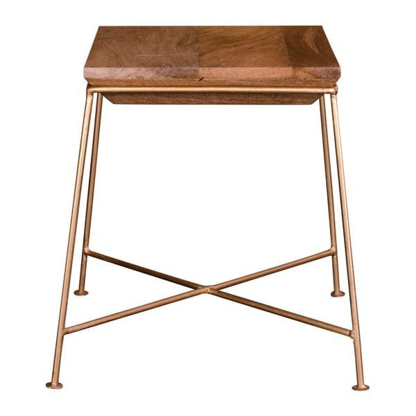 Stolik z blatem z drewna mango House Nordic Dui