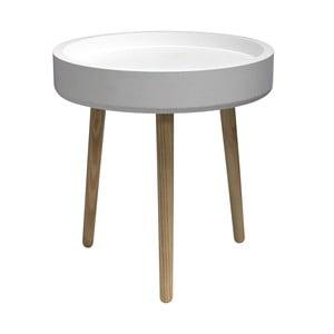 Stolik kawowy Pod, biały