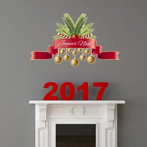 Naklejka świąteczna Fanastick Joyeux Noel