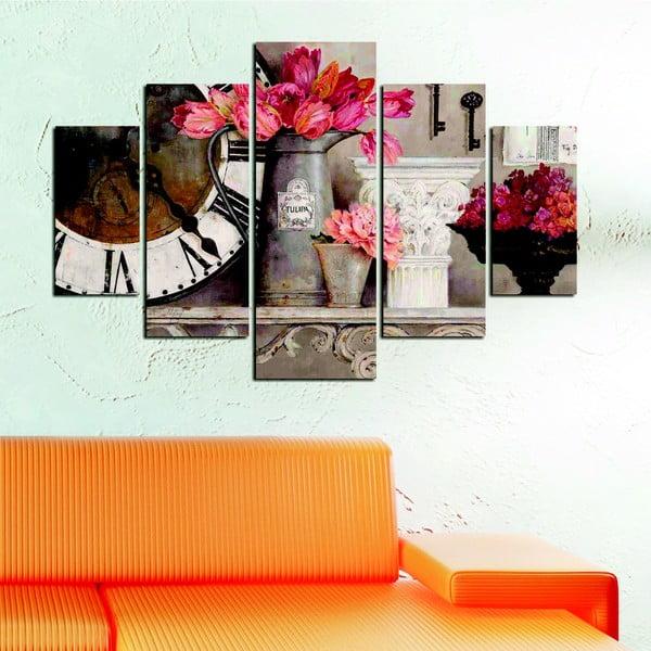 Wieloczęściowy obraz Humberto, 92x56 cm