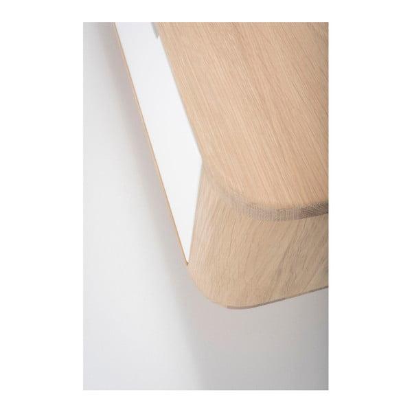 Dębowa   szafka pod TV Gazzda Ena, 225x42x45 cm