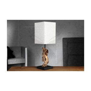 Beżowa lampa stołowa SOB Ela