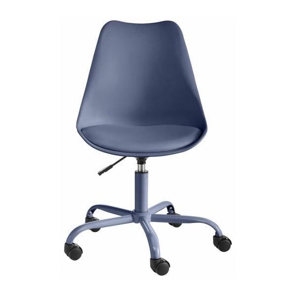 Niebieski fotel biurowy Støraa Dan