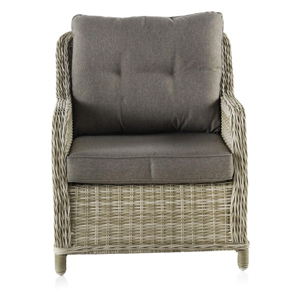 Fotel ogrodowy z poduchami Geese Alessia, szer. 71 cm