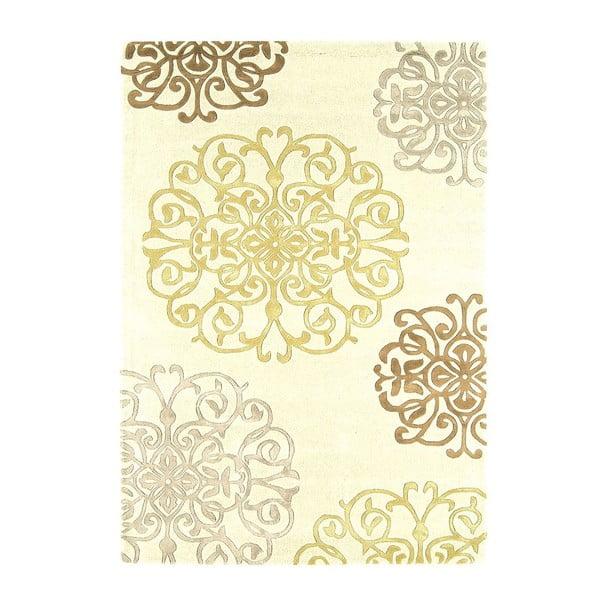 Wełniany dywan Matrix Tangier Cream 160x230 cm