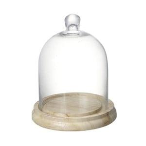 Taca z kloszem Parlane Dome, wys. 21.5 cm