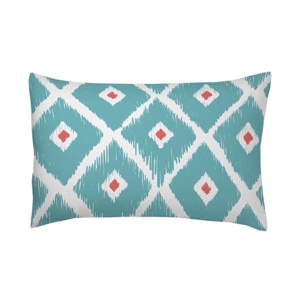 Poszewka na poduszkę Rombos Azul, 50x70 cm