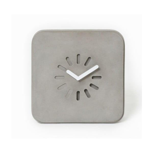 Betonowy zegar ścienny Lyon Béton Life In Progress