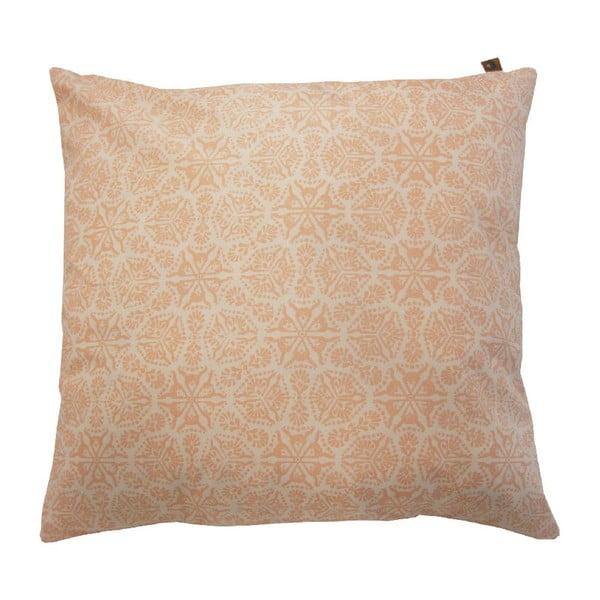Różowa poduszka Overseas Microfiber, 60x60 cm