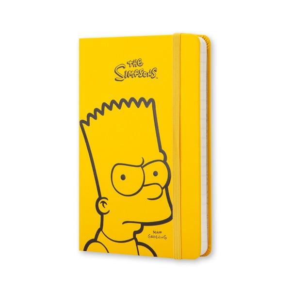 Żółty notes Moleskine The Simpsons, mały