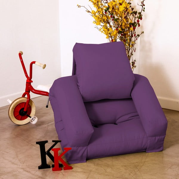 Fotel dziecięcy Karup Baby Hippo Purple